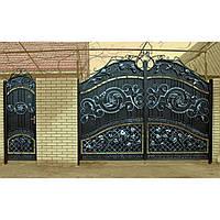Ворота кованые Давид