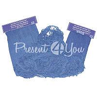 Морской сувенир сетка декоративная, синяя, 200х400 см., Sea Club