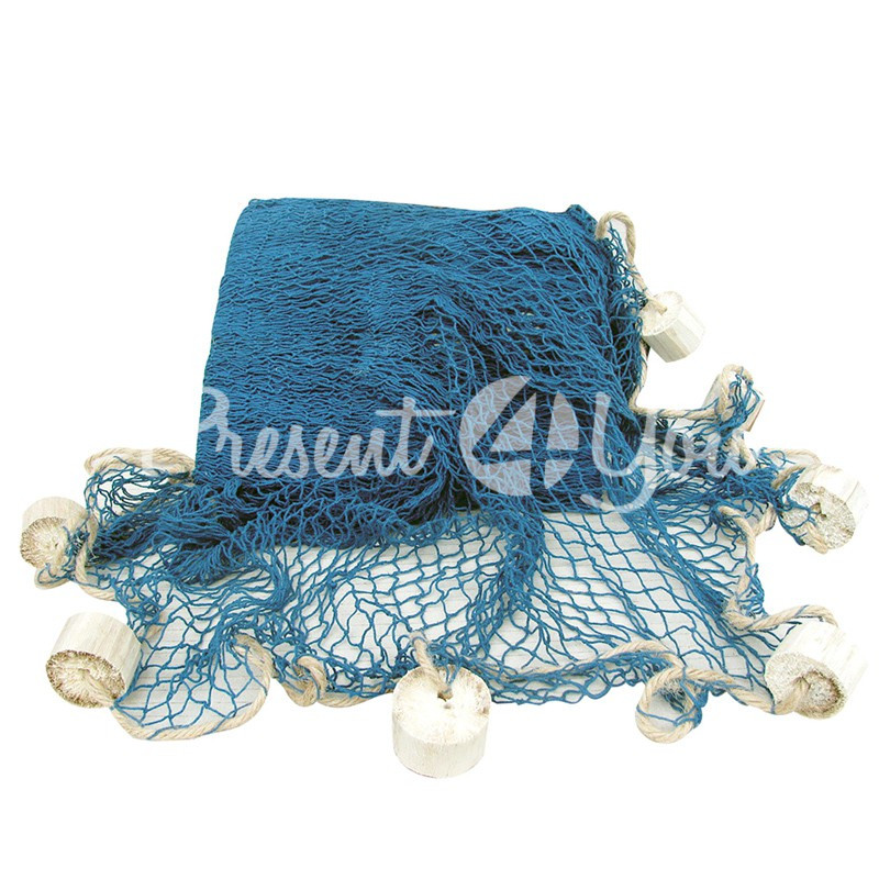Морской сувенир сетка декоративная, синяя, 250x250 см., Sea Club