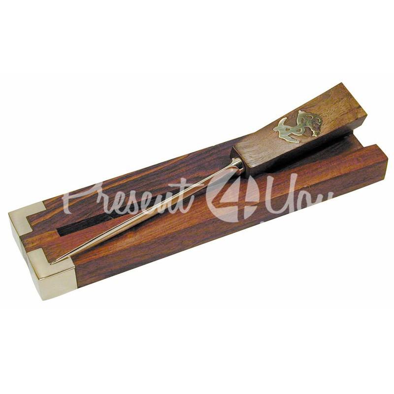 Морской сувенир нож для конвертов, 21x5x1,5 см., Sea Club