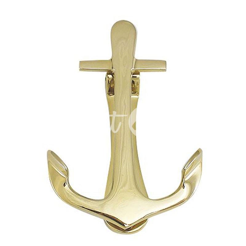 Морской сувенир дверной молоток «Якорь», 10х15 см., Sea Club