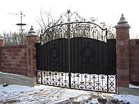 Ворота кованые Декор, Декор плюс