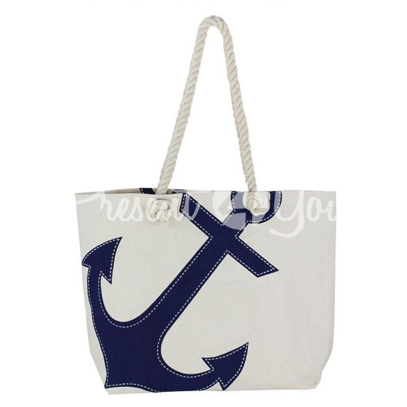 Морской сувенир пляжная сумка Sea Club, 50х36х12 см.