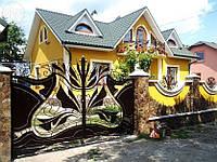 Ворота кованые Денди