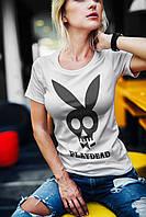 """Женская футболка """"Playdead"""""""