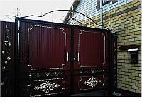 Ворота кованые Джентельмен