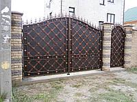 Ворота кованые Джулия, Джулия плюс