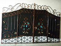 Ворота кованые Диджус