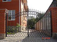 Ворота кованые Диєз