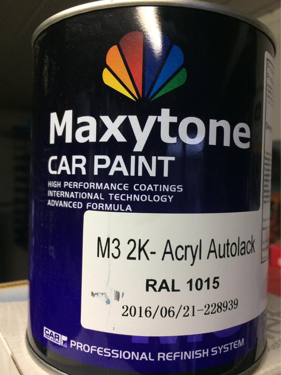 Акриловая краска maxytone Ral 1015 (слоновая кость)