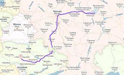 Бекеш, Венгрия → Захонь-Чоп →Луцк, Украина