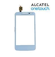 Touchscreen (сенсорный экран) для Alcatel 5020D One Touch M Pop Dual, оригинал (белый)