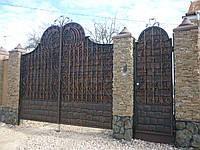 Ворота кованые Долар
