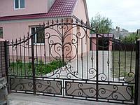 Ворота кованые Драва