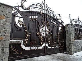 Ворота кованые Дрезден
