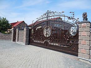 Ворота кованые Дрезден , фото 2