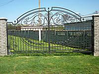 Ворота кованые Европа