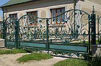 Ворота кованые Еллин