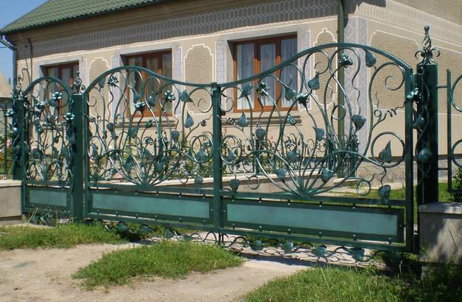 Ворота кованые Еллин , фото 2
