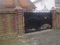 Ворота кованые Ельбрус