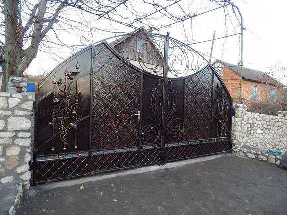Ворота кованые Звездное сияние, Звездное сияние плюс , фото 2