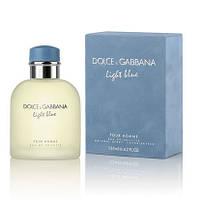 Мужская туалетная вода light blue pour homme dolce&gabbana (лайт блю пур хом) духи дольче габбана (копия)