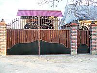 Ворота кованые Зоря-3