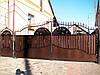 Ворота кованые Зоря-4