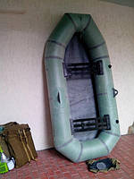 Лодка надувная резиновая Лисичанка. Удобная, компактная. Отличное качество.  Код: КГ126