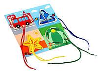 Игрушка - Шнуровка для детей - Окружающий мир