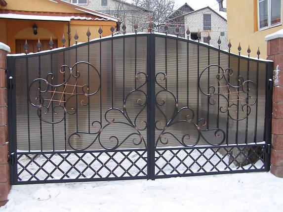 Ворота кованые Ира, Ира плюс , фото 2