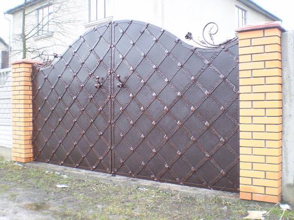 Ворота кованые Канго , фото 2