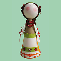 "Набор ""сделай сам"" ОКСАНА, кукла из фоамирана"