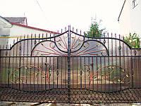 Ворота кованые Карина-2