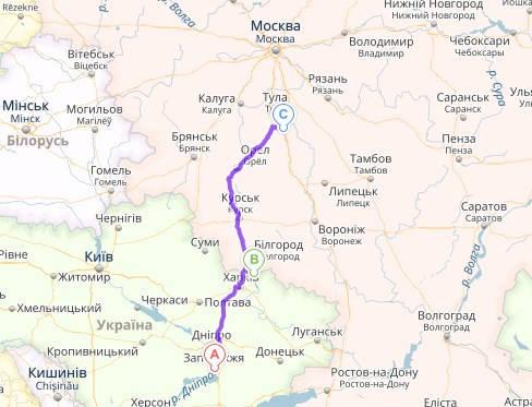 Доставка посылки (личные вещи) Украина → Россия