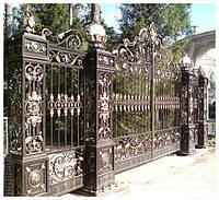 Ворота кованые  Лондон