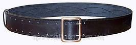 Ремень портупея кожаный офицерский черный