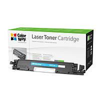 Картридж лазерный совместимый CANON 729, НР СE311A, LBP-7018С, 7010С cyan