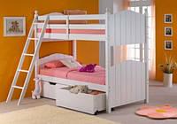 Двухъярусная кровать Синтия (трансформер, сосна)