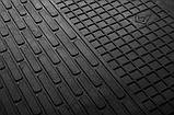 Резиновые передние коврики в салон Audi A6 (C6) 2004-2011 (STINGRAY), фото 2