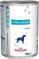 Royal Canin Hypoallergenic Canine (банка) - диета для собак c пищевой аллергией или непереносимостью 0,4 кг