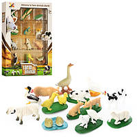 Животные NC01E (96шт) домашние, 12шт, в кор-ке, 22,5-29,5-3см