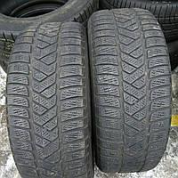 Шина зимняя бу:215/55R17 Pirelli Sottozero3