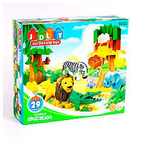 Конструктор для малышей «Зоопарк» 5032 JDLT, 29 деталей