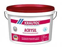 Силиконо-модифицированная краска, экстра класса, усилинная силоксаном Кrautol Аcrysil В1, В3 (Краутол Акрисил)