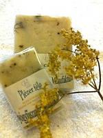Мыло  ( ручная делка, бумажная упаковка)/ Бузина- мёд