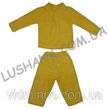 Махровая пижама Травка на рост 104-110 см - Вельсофт