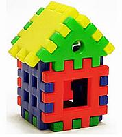 Детский конструктор-пазл «Домик» | 9 элементов