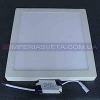 Светодиодный LED светильник панель 24W накладной квадрат KODE:530355