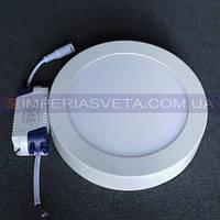 Светодиодный LED светильник панель 24W накладной круг KODE:533344